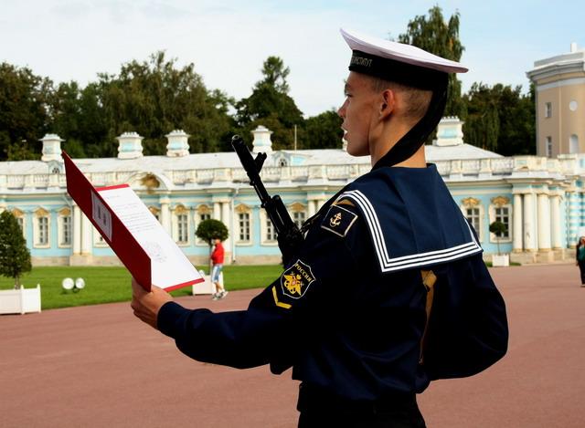 Поздравления курсантов с принятием присяги в